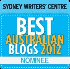 Best Australian Blogs 2012 Nominee