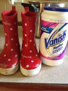 Napi San Vanish - Cleaned kids gum boots