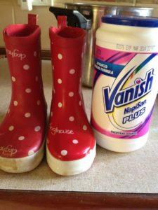 Napi San Vanish - Cleaned kids gum boots