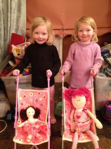 Dolls, Girls and Prams