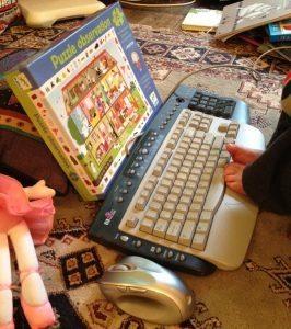 Julia's computer