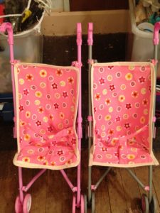 New pram covers - Don't they look pretty