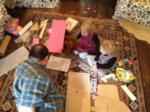 Doll house assembly