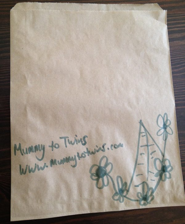 Mummy to Twins Designer Paper Bag