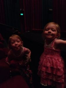 Waiting to see Tinker Bell – The Secret of the Wings