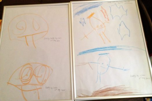 Gift Idea: Frame Your Kids Drawings