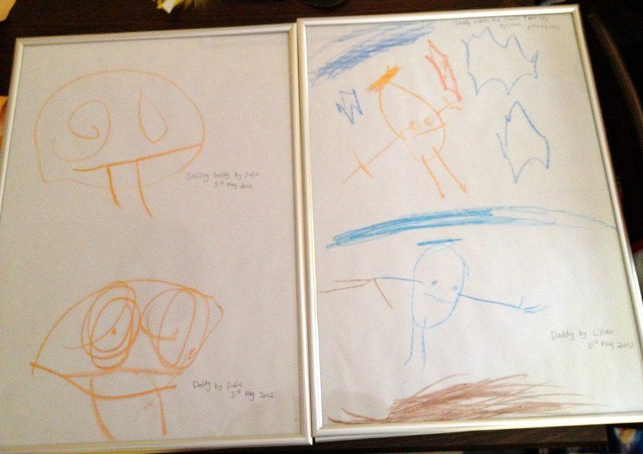 My artists work