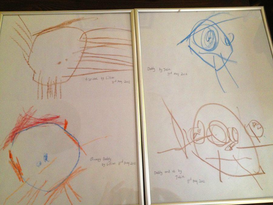 My creative little artists