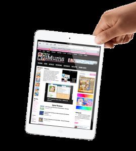 Hopefully my iPad mini. Sorry iMums I have used your image, hope you don't mind.