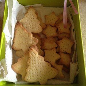 Shortbread in gift box