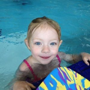 Julia @ swimming lessons