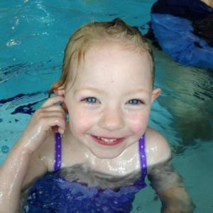 Lillian @ swimming lessons
