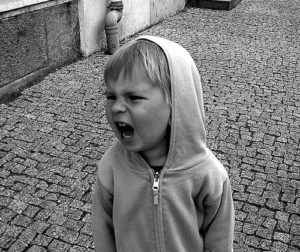 Angry Child. Photo by Mindaugas Danys