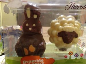 The Easter Bunny and Shaun the Sheep