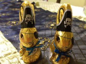 Pirate Rabbits - got eaten before breakfast