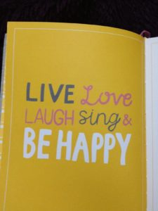 Happy saying from the Happiness Book