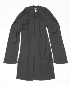 The gown that I will be wearing to graduate