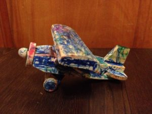 Toy Plane - Ready for the flyover
