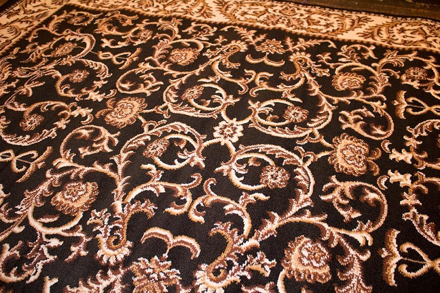 Close up of new rug, Looks great!