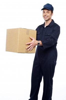 What should have happened, the parcel gets delivered. Image courtesy of stockimages at FreeDigitalPhotos.net