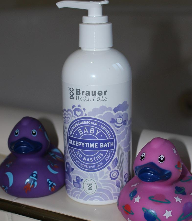 Brauer's Baby Sleepytime Bath