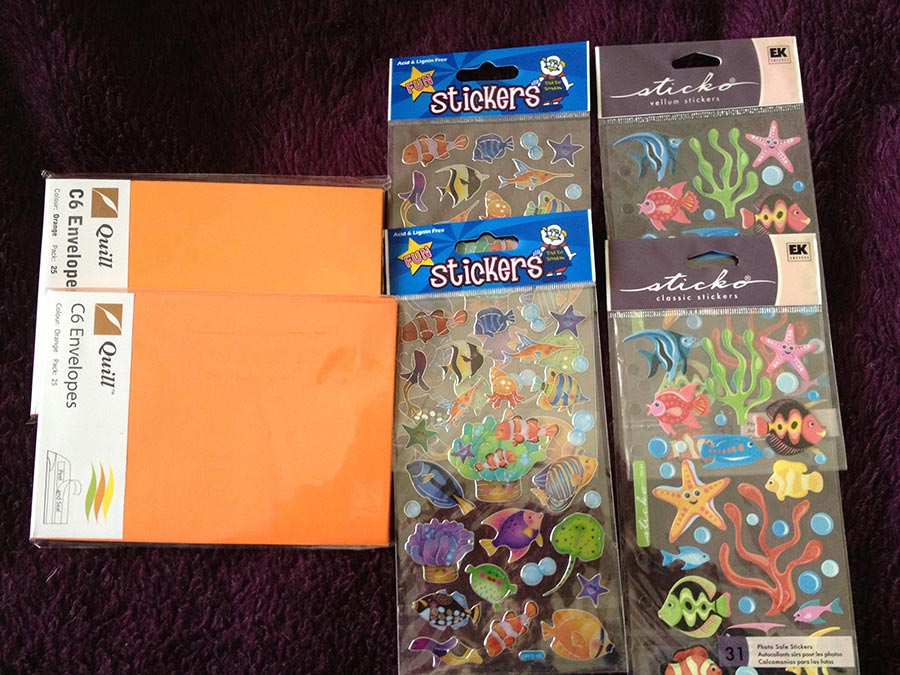 Envelopes and Stickers