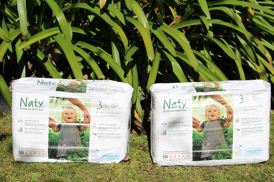 2 people to win 1 pack of Naty nappies