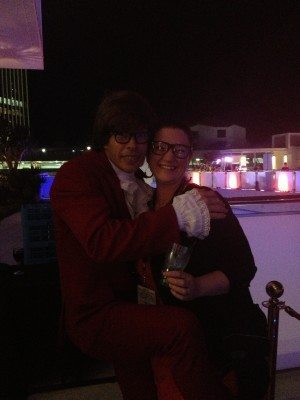 I know Austin from way back. Yeah baby. At the Party on Friday night @ Gold Coast Hilton