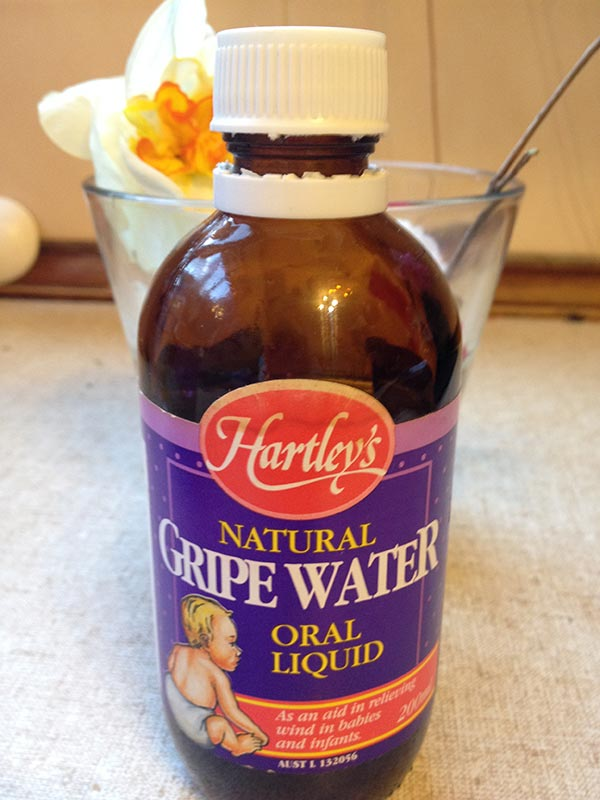 Hartely's Natural Gripe Water. Great for soothing colic, wind and tummy upsets.