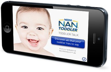 Nestlé NAN® Toddler.