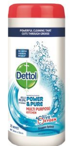 Dettol Power and Pure Wipes