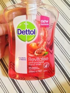 Dettol Revitalise Antibacterial Handwash in Raspberry and Pomegranate