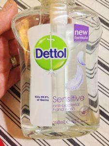 Dettol Sensitive Antibacterial Handwash