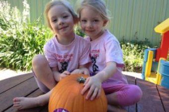 Making a Pumpkin Jack-o'-Lantern