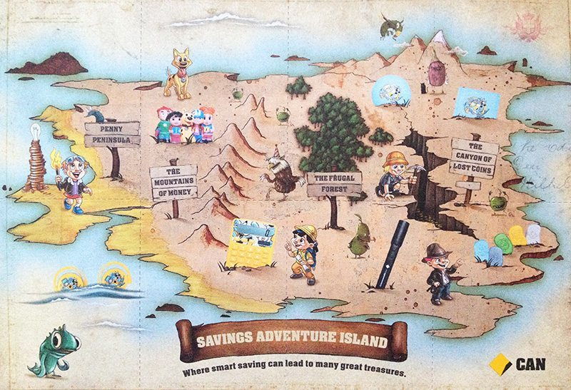 Savings Adventure Island - Commonwealth Bank