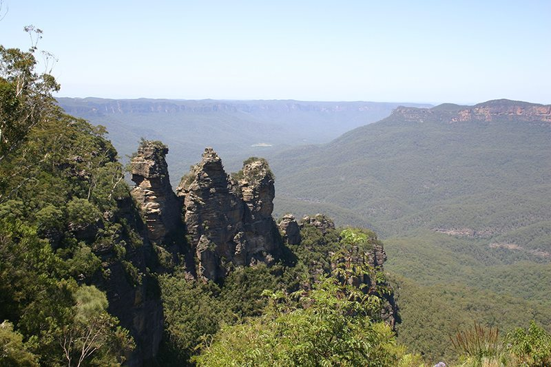 The 3 Sisters at Katoomba - Echo Point