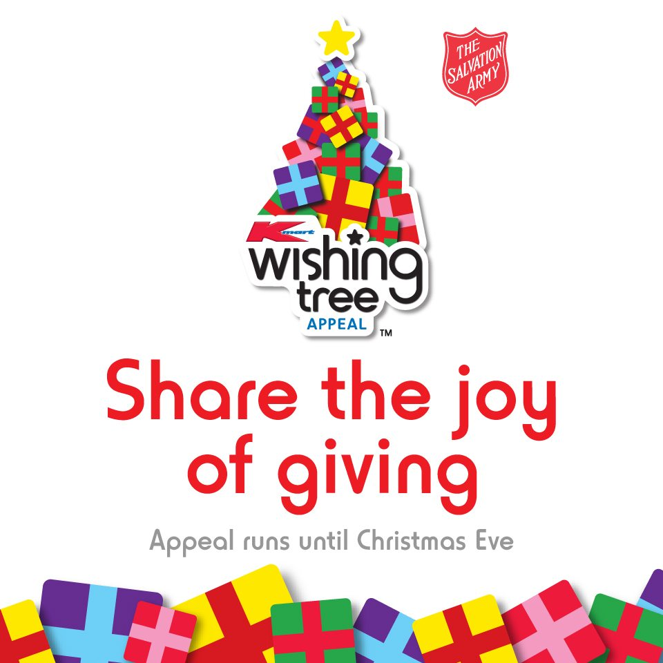 the kmart wishing tree appeal - What Time Does Kmart Close On Christmas Eve