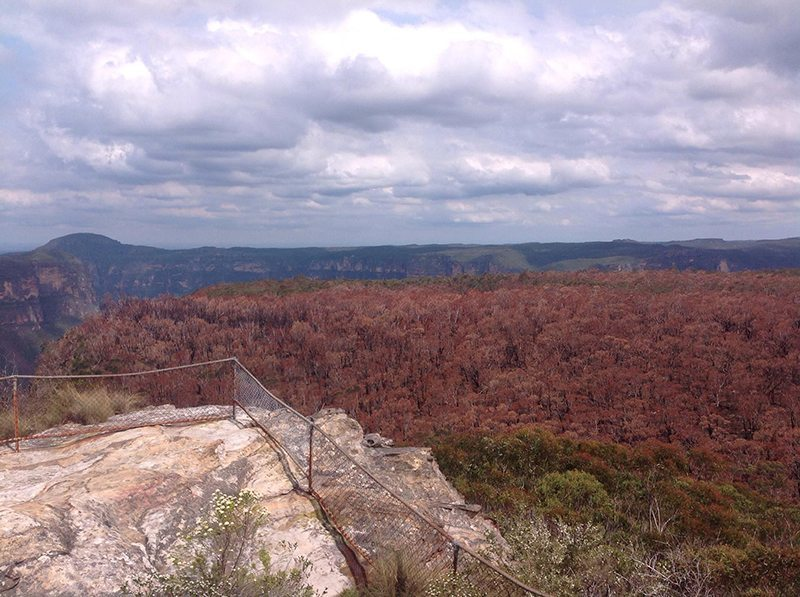 The view while on Anvil Rock
