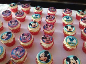 Too many to have. I can only have 1? More Disney cupcakes. YUM!