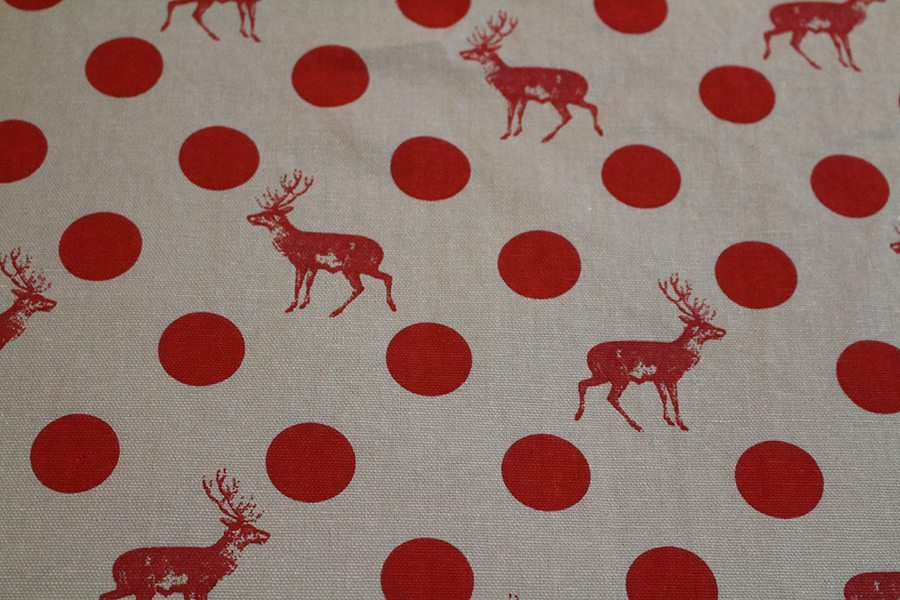 One of the fabrics I chose. I love it as it is different and great for a Christmas present.