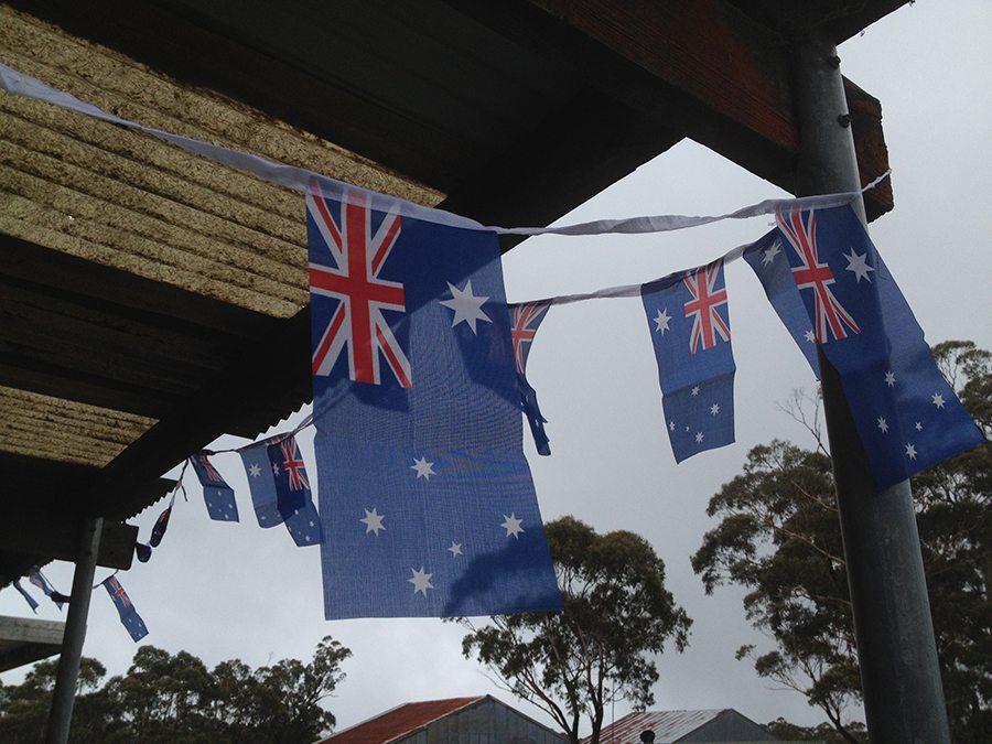 Australia Day BBQ at the Katoomba Airfield