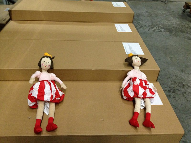 The dolls that I bought the girls