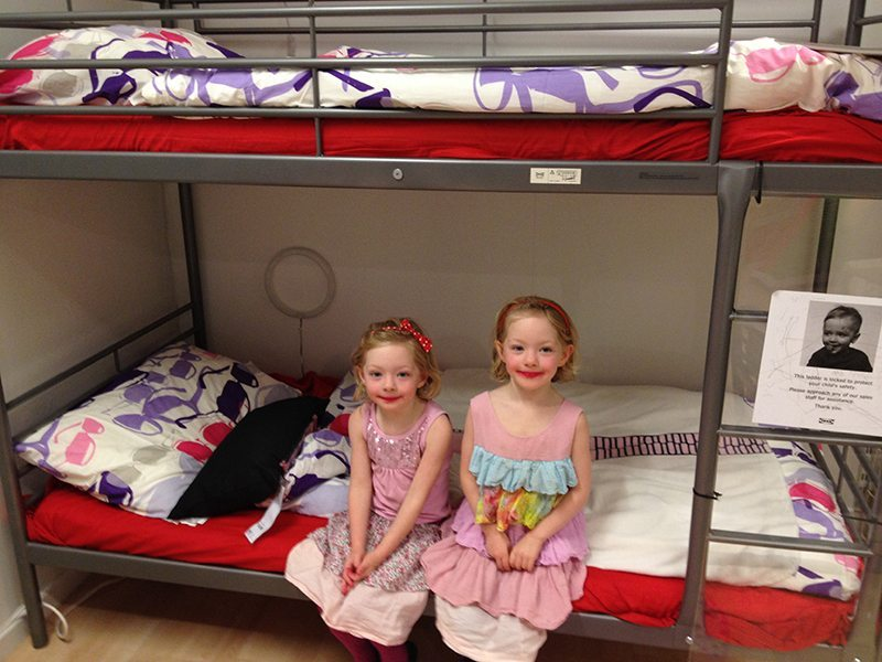 Kids loved the bed and were super happy with our surprise. They had no idea we were doing this.