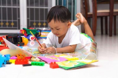 Practicing writing. Image courtesy of Naypong / FreeDigitalPhotos.net