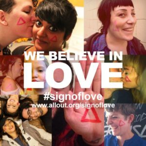 LUSH - Sign of Love campaign