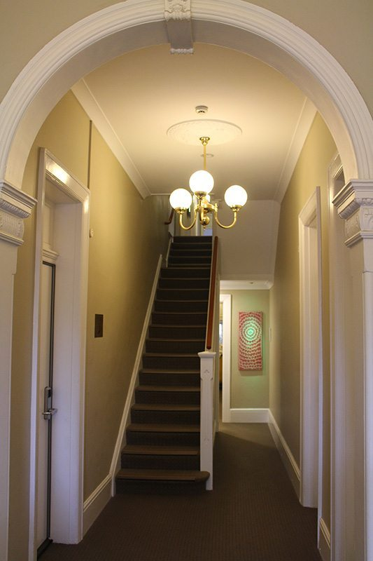 Inside the Cremorne Point Manor