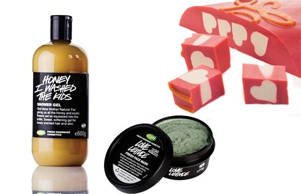 Love Lettuce Fresh Face Mask, Honey I Washed the Kids Shower Gel and Neon Love Soap