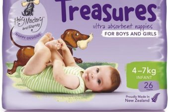 WIN: A Pack of Treasures Nappies