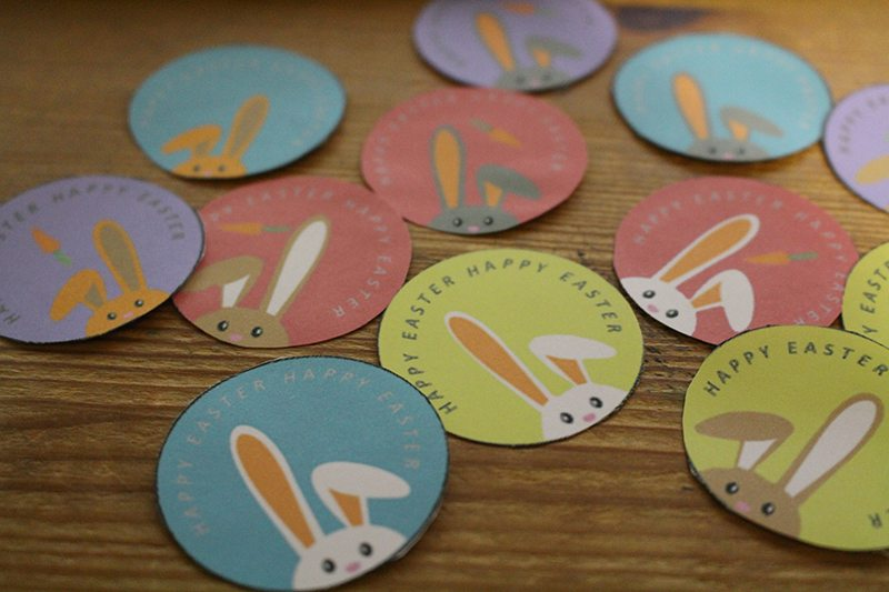 Easter Cupcake Toppers - Make your cupcakes fun for Easter.