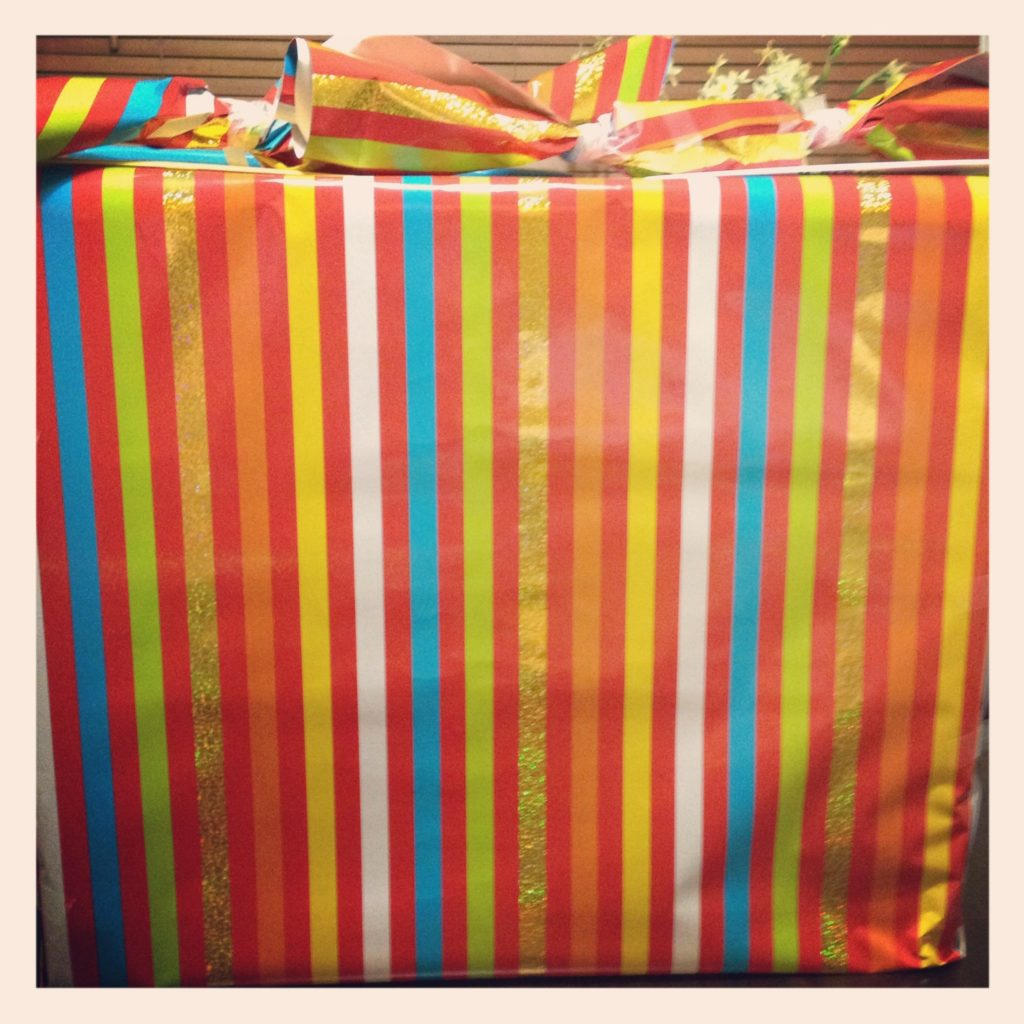 My birthday presents. Waiting for me to open them! I cannot wait. Wonder what they are?